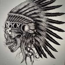skull chief tattoo tatoo and tattos