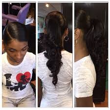pics of black woman clip on hairstyle 10 20inch body wave drawstring ponytails clip in human hair