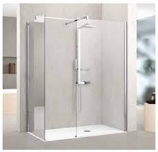 novellini kuadra h h 76 mirrored shower screen bathroom