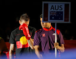 Indigenous Flags Of Australia The World Today Olympics Overreact To Aboriginal T Shift Boxing