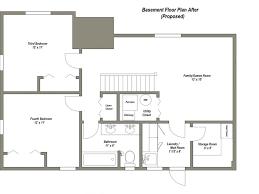 ranch floor plans with basement uncategorized ranch house plans with basement inside stylish