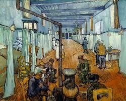 gogh chambre arles vincent gogh la salle des malades d hôpital d arles 1889