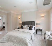 diy bedroom bench bedroom transitional with upholstered headboard