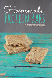 diy protein bars homemade protein bars mommysavers
