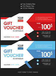 22 gift voucher templates free psd epd format download free