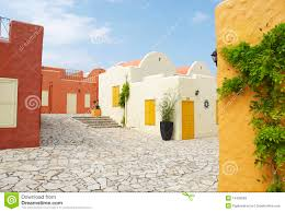 mediterranean houses stock photos image 14790593