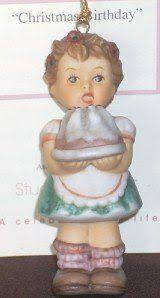 berta hummel goebel figurine ornament and by myredflamingo