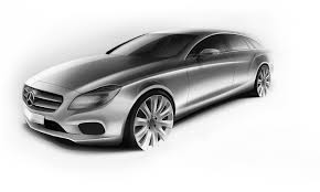 the design of the new cls mercedes benz