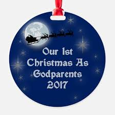 godparents ornament cafepress