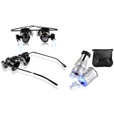 insten 20x magnifying glasses u0026 60x professional magnifier