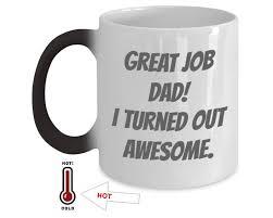 fathers day mug color changing mug gift magic mug great s day gift for