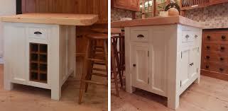 free standing kitchen island with breakfast bar handmade solid wood island units freestanding kitchen units
