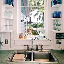 Glass Shelves For Kitchen Cabinets The Benefits Using Wall Glass Shelves Wearefound Home Design