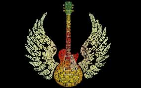 guitar with wings walldevil