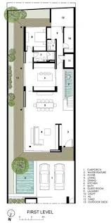 Long Narrow House Floor Plans Long House In Singapore Encouraging Strong Family Connections