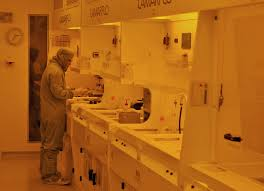 inside the clean room
