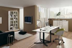 Home Office Designs Home Office With A Hidden Bed And Ample - Interior design home office