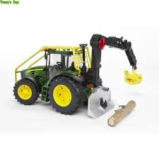 bruder farm toys bruder john deere 7930 forestry tractor 1 16 tinney u0027s toys