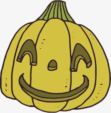 hand painted pumpkin halloween clipart green hand painted smiling pumpkin vector png pumpkin hand