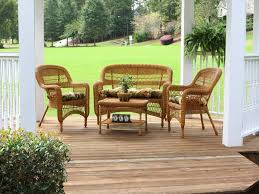 Wicker Patio Table Set Picturesque Modern Furniture Wicker Patio Compact Medium Southwest