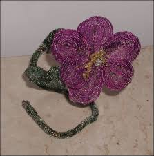 french beaded flowers and victorian beaded flowers