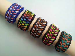 bracelet made from rubber bands images Rainbow loom rubber band bracelet galaxy pick or custom made ebay jpg