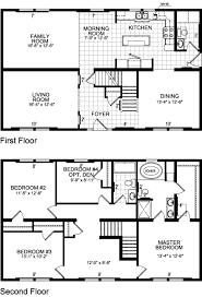 floor plans for 2 story homes 2 story house floor plans home planning ideas 2018