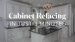 can you resurface laminate cabinets cabinet refacing in just 3 minutes kitchen magic