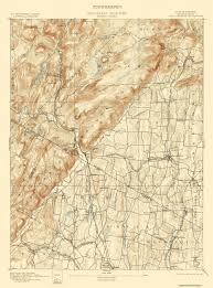 New Jersey New York Map by Old Topographical Map Ramapo New York New Jersey 1893