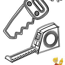 hand saw coloring page kids drawing and coloring pages marisa