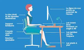 bureau poste de travail comment améliorer l ergonomie de votre poste de travail
