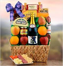 Bereavement Gift Baskets Gift Baskets With Gourmet Wine Snacks Fruits And Sweet Treats