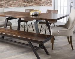 industrial kitchen table furniture industrial dining table etsy