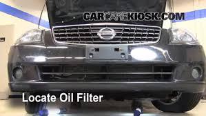 2005 nissan altima oil light reset oil filter change nissan altima 2002 2006 2006 nissan altima
