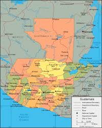 america map guatemala guatemala map and satellite image