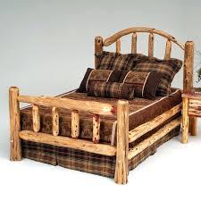 Tree Bed Frame Cedar Bed Frame Brunofelixarts