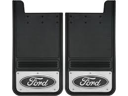 Ford F250 Truck Mats - 1999 2016 ford f250 f350 black oval gatorback mud flap set