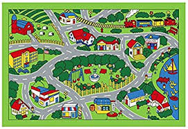 Childrens Area Rugs City Map Children Area Rug 39 X58 Toys