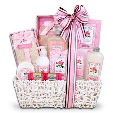 bathroom gift basket ideas amazon com lauren nichole tea rose spa gift basket for women