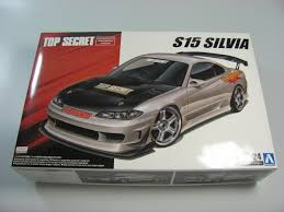 Nissan Silvia S15 Aoshima Car Model Kit Com