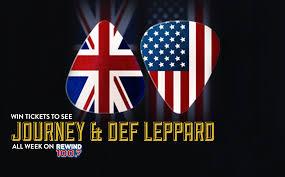 Define Flag Journey U0026 Def Leppard U2013 Rewind 100 7