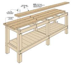 Free Wood Workbench Designs by Best 20 Heavy Duty Workbench Ideas On Pinterest Garage