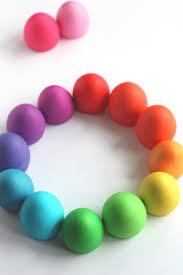 not martha u2014 easter egg food color palette