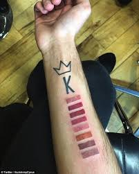 kylie jenner superfan gets his third tattoo tribute to her lip