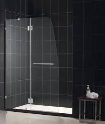 Shower Door Panel Dreamline Shdr 3345728 01 Aqua Clear Glass Shower Door Chrome