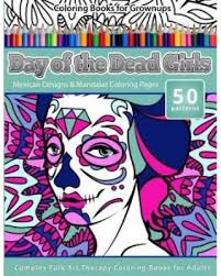 holiday savings on coloring books for grownups day of the dead