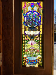stained glass designs for doors the ultimate sacred geometry dichroic stained glass door