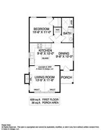 600 Square Foot House Plans 10 Cottage House Plan With 600 Square Feet And 1 Bedroom From