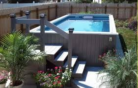 31 uniquely decorative above ground pool landscaping ideas
