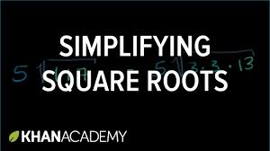 simplifying square roots exponents radicals and scientific